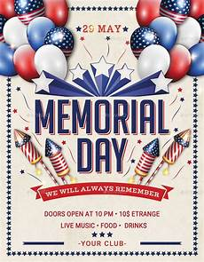 Memorial Day Flyer 8 Labor Day Party Flyers