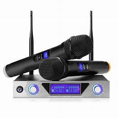 Professional Channel Channel Wireless Handheld Microphone by Nasum Uhf Dual Channel Professional Handheld Wireless