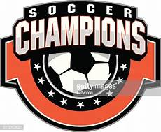 Champion Designs Soccer Ball Champions Design Vector Art Getty Images