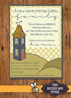 At Home Invitation New Home Housewarming Party Invitation New Home Open House