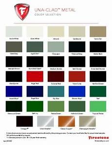 Wrisco Aluminum Color Chart Steel And Aluminum Color Charts Firestone Pac Clad