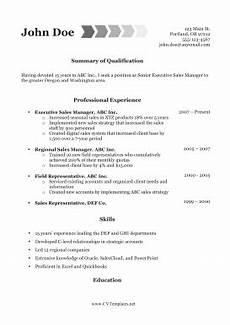 Resume Template For Internal Promotion Internal Promotion Cv A4
