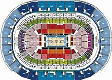 Ford Center Seating Chart With Rows Nba Basketball Arenas Oklahoma City Thunder Home Arena