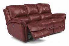 flexsteel latitudes dominique casual reclining sofa with