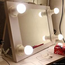 Hollywood Lighted Dressing Room Mirror Portable Hollywood Lighted Vanity Mirror Illuminate Makeup
