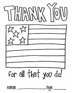 thank you card template for veterans make a thank you card here s a card template for children