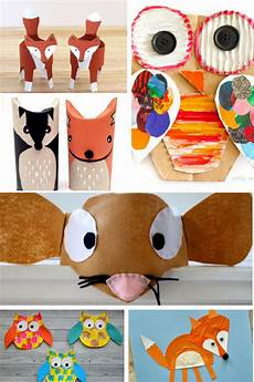 adorable forest animal crafts arty crafty