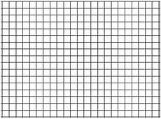 Large Graph Paper 1 Inch Squares 25 Pack Of Large Sheet Format 1 Graph Paper 24 X