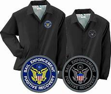 Bail Recovery Agent Bail Enforcement Fugitive Recovery Agent Embroidered