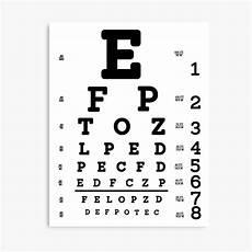 Where To Buy Snellen Eye Chart Quot Snellen Eye Chart Quot Canvas Print By Allhistory Redbubble