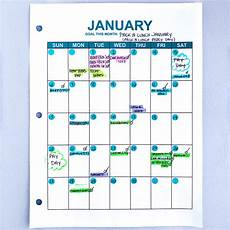 Money Calendar How To Use A Budget Calendar Successfully The Budget