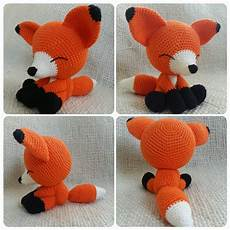 sleepy crochet fox free pattern amigurumi