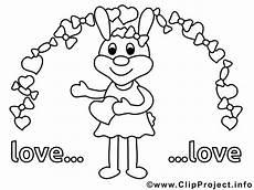 Hase Malvorlage Kinder Verliebter Hase Ausmalbilder Kostenlos Ausdrucken
