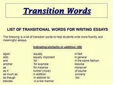 Phrases That Can Be Used In Essays Homework Writing Services With Images Transition Words