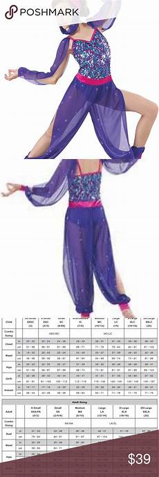 Weissman Costume Size Chart Weissman Arabian Nights Costume Glitter Mesh Sleeves And