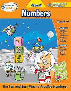 Maths Cover Page Design Hooked On Math Pre K Numbers Workbook Book By Hooked On