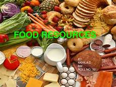 Food Resources Food Resources Akhila
