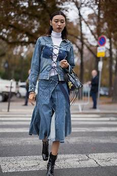 deconstructed denim clothes to keep in 2018 popsugar