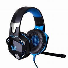 Gaming Headphones With Lights Each G2000 Stereo Gaming Headphone Headset Headband Mic