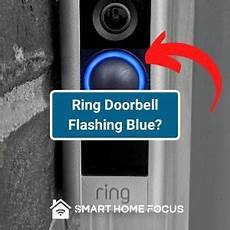 Blue Light On My Ring Doorbell Why Is Ring Doorbell Blue Smart Home Focus