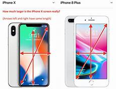 apple iphone x wallpaper size how large is the iphone x screen really macrumors forums