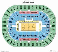 Us Bank Seating Chart Metallica Us Bank Arena Seating Chart Seating Charts Amp Tickets