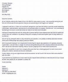 Executive Position Cover Letters Free 9 Sample Executive Cover Letter Templates In Ms Word