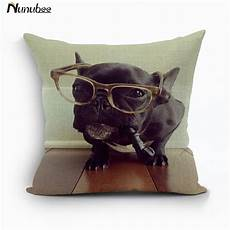 nunubee animal decorative cushion cover 18x18in elephant