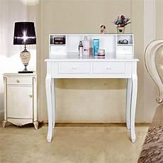 console per da letto songmics tavolo cosmetici mobile da trucco da toeletta
