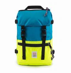 Designer Pack Sale Topo Designs Rover Pack Turqouise Yellow Timeless Pack