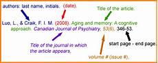 Apa Format Structure 8 Journal Apa Citation Manual Journal
