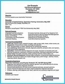 Automotive Technician Resume Writing Your Great Automotive Technician Resume