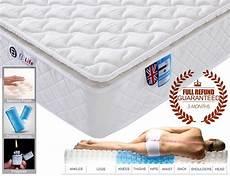 3ft single 9 zone memory foam mattress with pocket springs