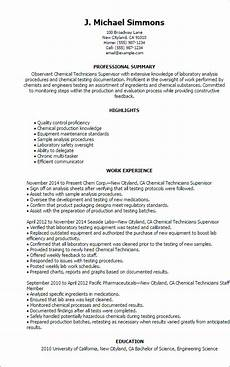 Scientist Resume Templates Science Resume Templates To Impress Any Employer Livecareer