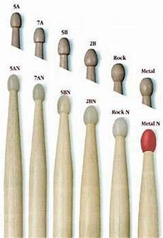 Promark Drumstick Size Chart Buying Guide How To Choose The Right Drum Sticks The Hub