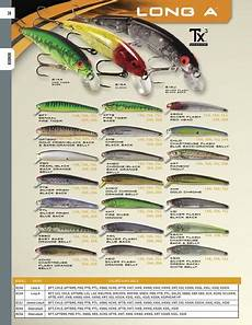 Bomber Long A Color Chart Herdman Blog Bomber Lures