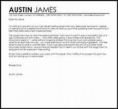 Sample Letters Of Appeal Grade Appeal Letter Appeal Letters Livecareer