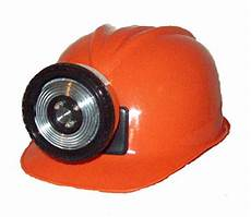 Miners Hat With Light Childrens Orange Construction Lighted Miner Hard Hat