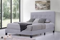 size platform bed frame segmart modern platform bed