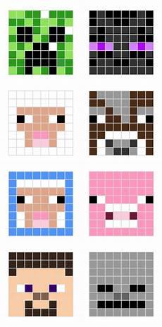 Minecraft Pixel Art Grids Minecraft Pixel Art Templates All For The Boys