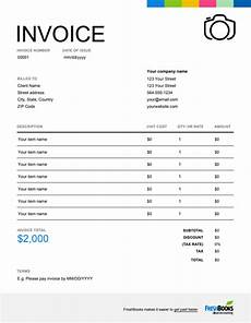 Photo Invoice Photography Invoice Template Free Download Send In Minutes