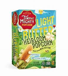 Light Popcorn Light Butter Microwave Popcorn Tiny But Mighty