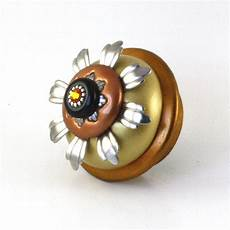 xl sunflower cabinet knob 2 5 inches diameter eclectic