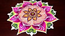 Color Kolam Designs With Dots Latest Freehand Kolam For Margazhi Multi Colour Rangoli