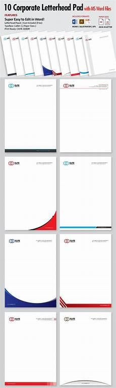 Ms Word Stationery Letterhead Ms Word Docx Letterhead Ms Word Stationery