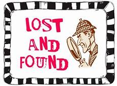 Lost And Found Sign Lost And Found Church Of The Good Shepherd Tyrone Pa