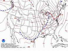 Surface Analysis Chart Depicts Surface And Upper Air Charts