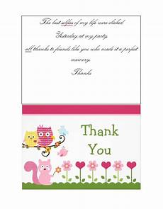 thank you card template with photo to print free 30 free printable thank you card templates wedding