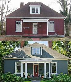 20 home exterior makeover before and after ideas house