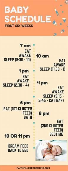 Feeding Schedule For Babies 4 Baby Sleep Schedules That Work Motherhood The Messy